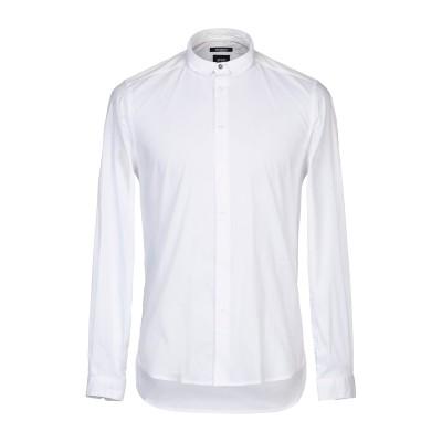 OFFICINA 36 シャツ ホワイト L コットン 72% / ナイロン 25% / ポリウレタン 3% シャツ