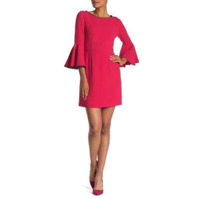 トリーナターク レディース ワンピース トップス Bromely Bell Sleeve Dress PINK POP