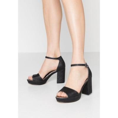 タマリス サンダル レディース シューズ High heeled sandals - black glam