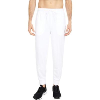 プーマ PUMA メンズ スウェット・ジャージ ボトムス・パンツ Iconic MCS Track Pants Summarized PUMA White