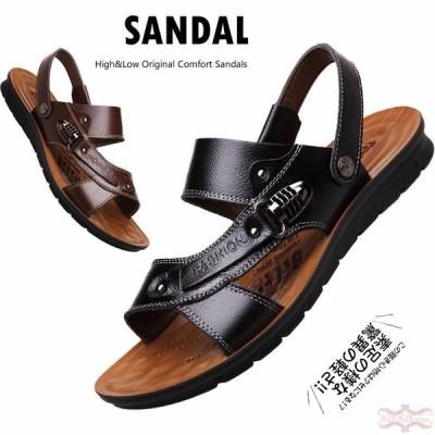 サンダル メンズ スポーツサンダル フィットサンダル オフィス ストラップサンダル メンズサンダル 歩きやすい 疲れない 紳士靴 軽量 滑り止め 大きいサイズ