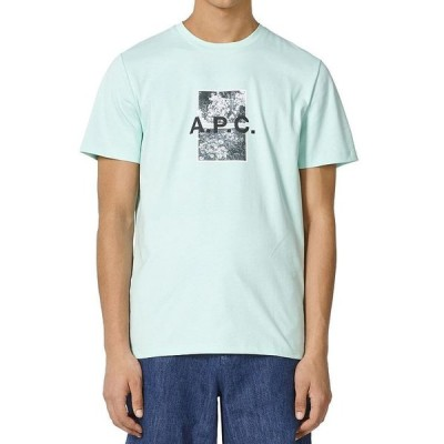 アーペーセー メンズ Tシャツ トップス Teddy Logo Tee