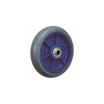 イノアック LR-150W-GR-20 低始動抵抗キャスター 車輪のみ Φ150 グレー シャフトΦ20