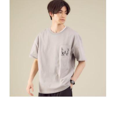 別注 [ ジョナスクレアッソン ] CAPTAIN STAG × Jonas GLR 半袖 Tシャツ
