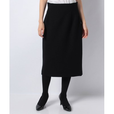 (ANAYI/アナイ)【セットアップ対応商品】リングツィードタイトスカート/レディース ブラック