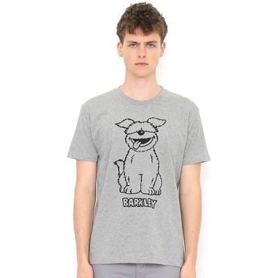 (グラニフ) graniph コラボレーション Tシャツ/バークレー (セサミストリート) (ヘザーグレー) メンズ レディース XL (g100)