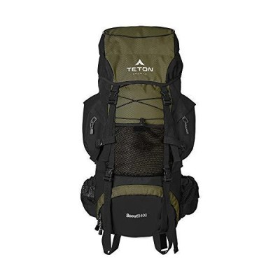Teton Sports Scout 3400 Internal Frame Backpack; HighPerformance Backpack f