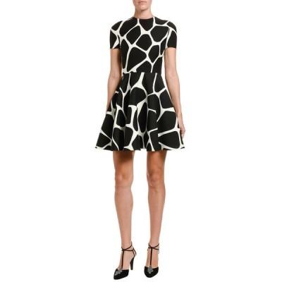 ヴァレンティノ レディース ワンピース トップス Giraffe Crepe Couture A-Line Dress
