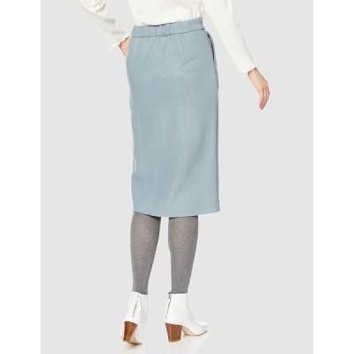 エヌナチュラルビューティーベーシック* スカート フロントスリットタイトスカート 166-9220155 レディース ブルー 日本 M (日
