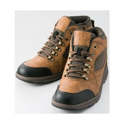 在庫処分 紳士靴 Texcy(テクシー) 防水ミッドカット キャメル TM-3012 3E相当 メンズシューズ アシックス商事 送料無料(一部地域除く)