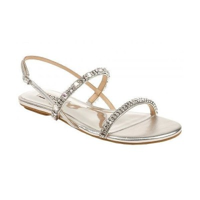 Badgley Mischka バッジリーミシュカ レディース 女性用 シューズ 靴 サンダル Zandra - Silver