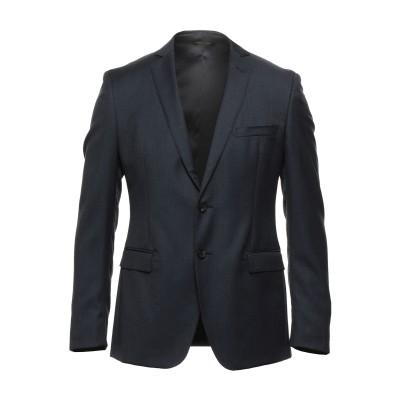 トネッロ TONELLO テーラードジャケット ダークブルー 48 バージンウール 100% テーラードジャケット