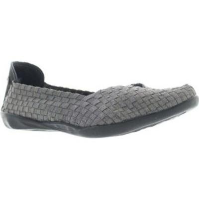 ベルニー メイヴ Bernie Mev レディース スリッポン・フラット シューズ・靴 Catwalk Grey Shimmer