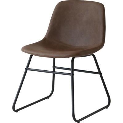 バースツール Chair ブラウン  組立品  代引不可