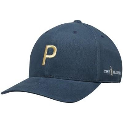 プーマ メンズ 帽子 アクセサリー THE PLAYERS Puma Limited Edition P Adjustable Hat Navy