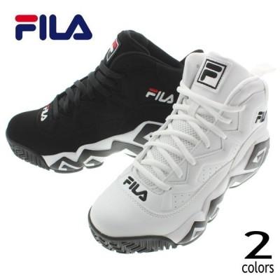 フィラ FILA スニーカー マッシュバーン MB FHE102 005(ホワイト) 001(ブラック)