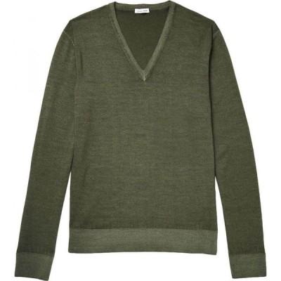 トーマス マイヤー TOMAS MAIER メンズ ニット・セーター トップス sweater Military green