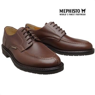 メフィスト 正規品 靴 MEPHISTO PHOEBUS DARK BROWN グッドイヤーウェルト ウォーキングシューズ Uチップ メンズ 革靴 紳士靴