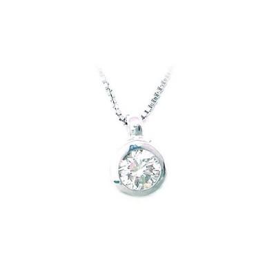 ネックレス レディース 天然石 K18ホワイトゴールド ダイヤモンド ペンダント【今だけ代引手数料無料】