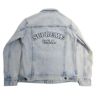 【3月12日値下】SUPREME 2016SS Denim Trucker Jacket デニムジャケット ブルー サイズ:S (元町店)