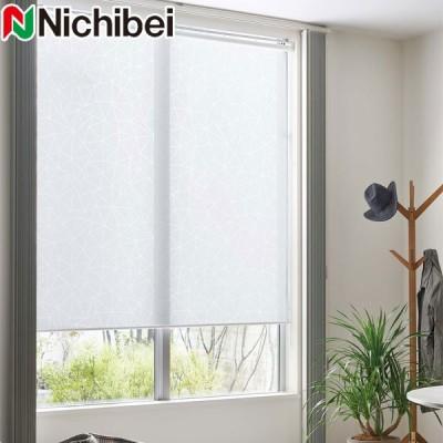 ロールスクリーン ニチベイ オーダー ソフィ クリスタルオパール 標準仕様 N9224 幅31〜50cm×丈10〜49cm