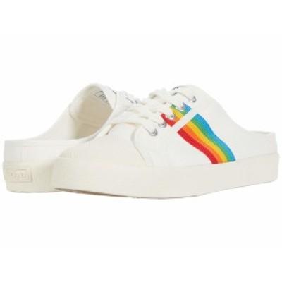 ゴラ レディース スニーカー シューズ Coaster Rainbow Mule Off-White/Multi