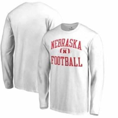 Fanatics Branded ファナティクス ブランド スポーツ用品  Fanatics Branded Nebraska Cornhuskers White Neutral Zone