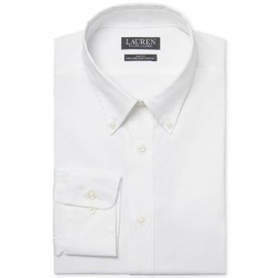 ラルフローレン メンズ シャツ トップス Men's Slim-Fit Stretch Performance Dress Shirt White