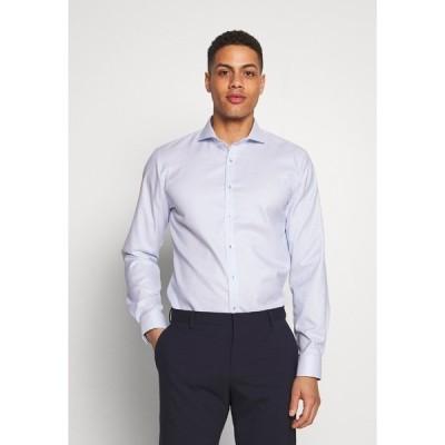オリンプ シャツ メンズ トップス OLYMP NO.6 SUPER SLIM FIT  - Formal shirt - bleu