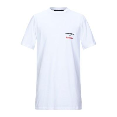 NUMERO 00 for LOTTO T シャツ ホワイト S コットン 100% T シャツ