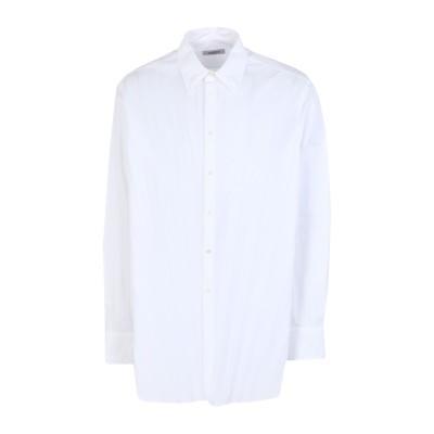 ヴァレンティノ VALENTINO シャツ ホワイト 39 コットン 75% / ポリエステル 25% シャツ