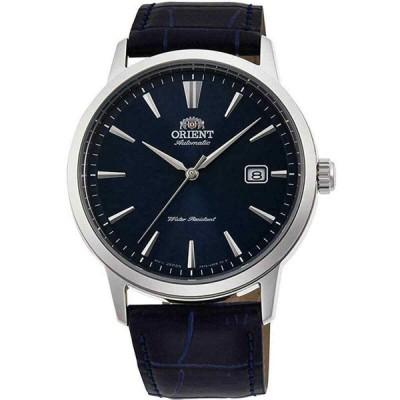 オリエント 腕時計 Orient メンズ Watch Symphony III Automatic Blue Dial Leather Strap RA-AC0F06L10A