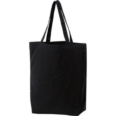 printstar TCL ライトキャンバスフラットトートサイズ:M(ブラック)