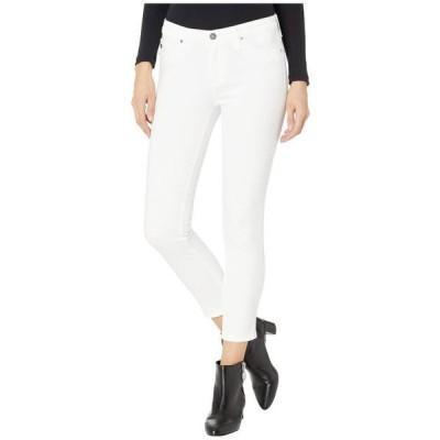 エージーアドリアーノゴールドシュミット レディース 服 パンツ Prima Crop in White