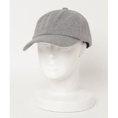THE BAREFOOT / ∴【 JABURO / ジャブロー 】6PANEL MELTON CAP 6パネル メルトンキャップ MEN 帽子 > キャップ