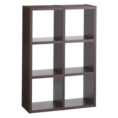 家具 収納 本棚 ラック シェルフ 飾り棚 Pombal/ポンバル シェルフ 2連セット 高さ114cm H06311