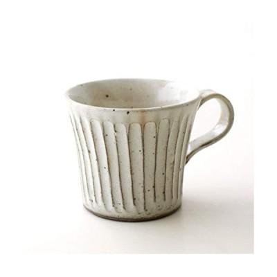 マグカップ 陶器 美濃焼 コーヒーカップ おしゃれ シンプル 粉引きマグ [kyt4274]