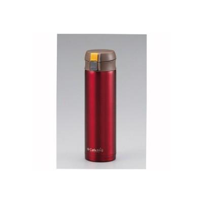 マグボトル 水筒 保温 保冷 ステンレス ワンタッチマグ 軽量 450ml レッド
