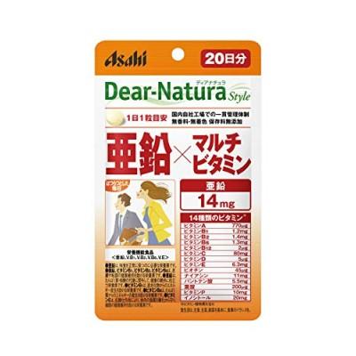 ディアナチュラスタイル 亜鉛マルチビタミン 20粒 (20日分)