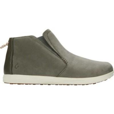 オルカイ OluKai レディース ブーツ チェルシーブーツ シューズ・靴 Hawai'iloa Manu Hope Chelsea Boot Dusty Olive/Cloud Nubuck