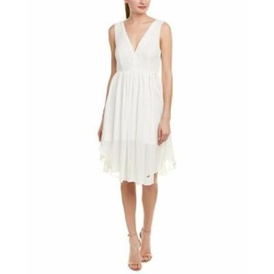 ファッション ドレス Finders Keepers Womens Finderskeepers Embroidered A-Line Dress M White