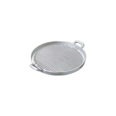 nakao/中尾アルミ製作所  アルミイモノ 丸型 ステーキパン 大 570×460