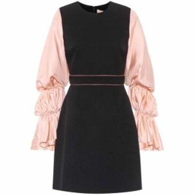 ロクサンダ Roksanda レディース ワンピース ワンピース・ドレス Silk-blend blouson sleeve dress Nude/Black