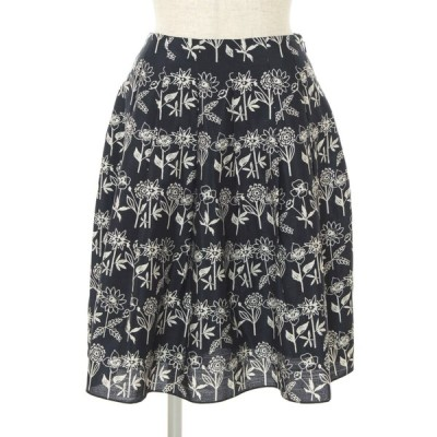 エムズグレイシー スカート フラワーモチーフ 花柄 36