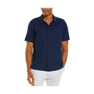メンズ ファッション  Vince Textured Cabana Woven Shirt