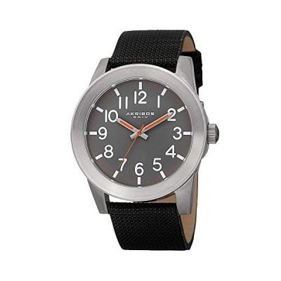 腕時計 アクリボスXXIV メンズ AK779SSB Akribos XXIV Men's AK779SSB Stainless Steel Watch with Black