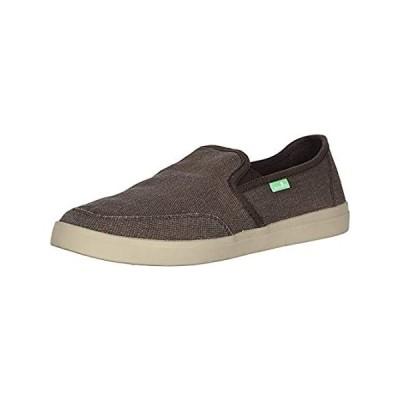 Sanuk Vagabond Slip-On Sneaker Brown 10 D (M)