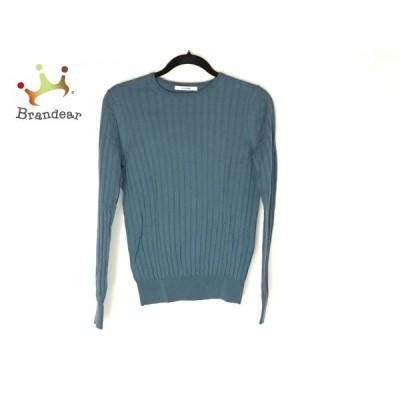スローン SLOANE 長袖セーター サイズ2 M レディース 美品 - ブルーグレー クルーネック   スペシャル特価 20210422