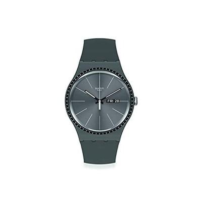 Swatch orologio GREY RAILS Originals New Gent 41mm nero SUOM709