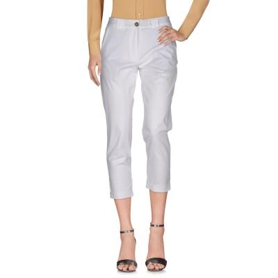 qURE パンツ ホワイト 40 コットン 100% パンツ